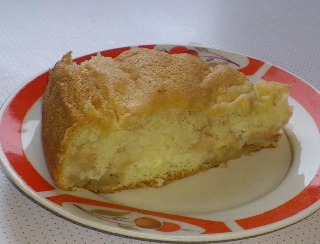 яблочный пирог классический рецепт с фото пошагово в духовке
