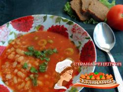 суп томатный итальянский