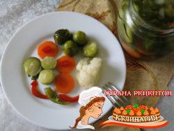 маринованная брюссельская капуста рецепты
