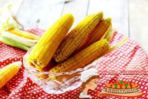 рецепт кукурузы вареной