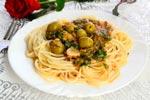 Спагетти с соусом из тунца и томатов рецепт с фото
