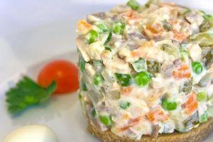 Салат оливье рецепт классический пошаговый рецепт