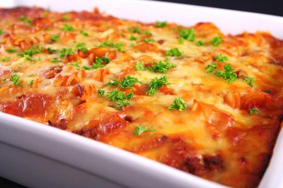 Говядина с картошкой с сыром в духовке рецепт пошагово