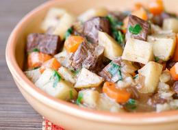 тушеная картошка с мясом рецепты
