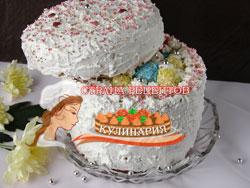Торт на 8 Марта «Шкатулка»