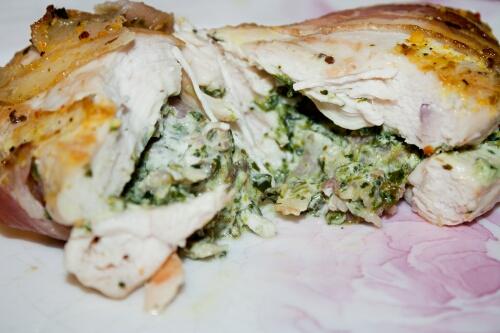 куриное филе фаршированное рецепты