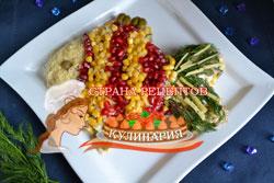 салат рыбка рецепт