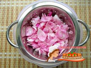 варенье из роз рецеп
