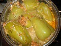 Рецепт фаршированного перца с мясом и рисом
