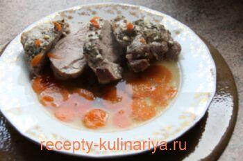 Запеченная свинина в духовке рецепт