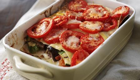 Овощная лазанья рецепт с сыром
