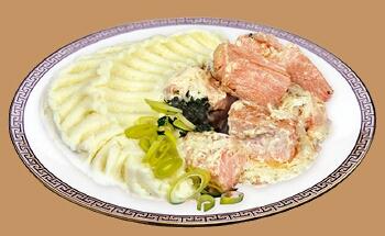 Стейк из сёмги в сливочном соусе домашний рецепт приготовления