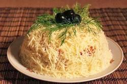 Салат из крабовых палочек рецепт с фото очень вкусный