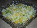 Фруктовый салат со сладким рисом рецепт с пошаговыми фото
