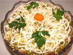 Зимний овощной салат рецепт