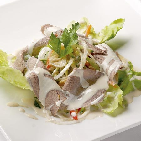 салат с языком рецепт