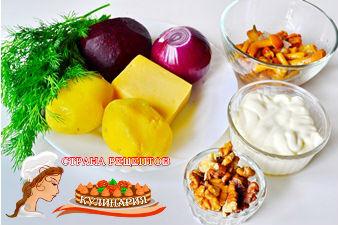 салаты рецепты с фото праздничные