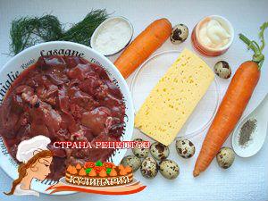 слоеные салаты рецепты