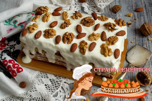 торт бисквитный рецепт с фото пошагово
