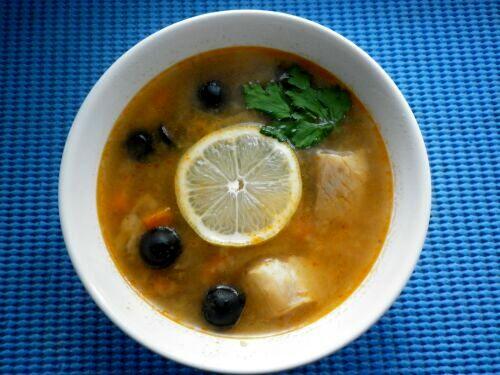 суп рыбная солянка рецепт видео