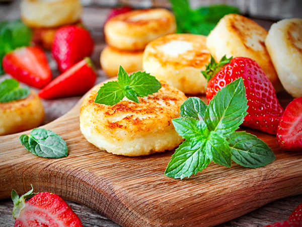 сырники без манки