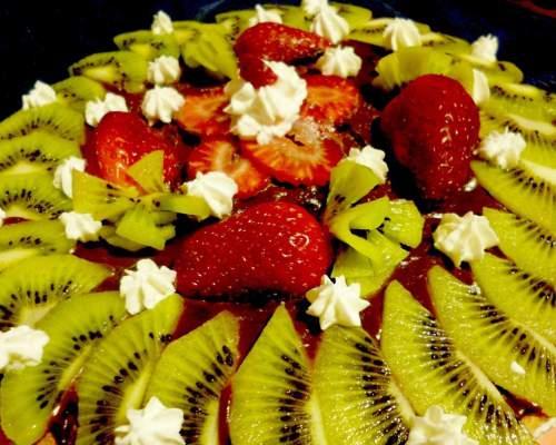 Рецепты на Новый Год торт с киви