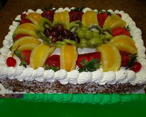 Рецепты на Новый Год торт с киви фото