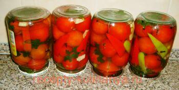 Маринованные помидоры на зиму рецепты с фото
