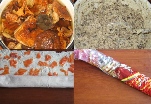 Рулеты из лаваша с грибами ингредиенты :