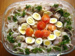 Ингредиенты для приготовления рыбной запеканки